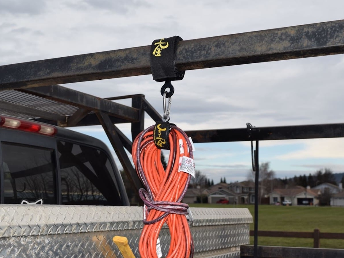 Jeri-Rigg EYE loop anchor point strap offers a versatile attachment system