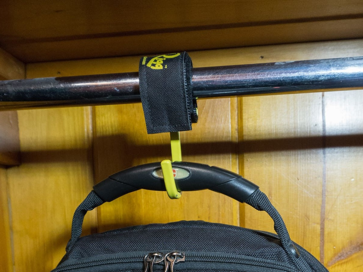 Jeri-Rigg HOOK tie-down strap offers so many ways to hang, organize, and secure gear