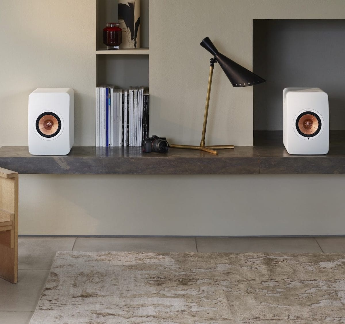 KEF LS50 Wireless II hi-fi speaker uses Metamaterial Absorption technology