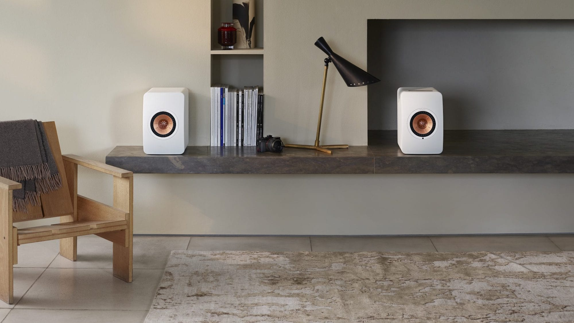 KEF LS50 Wireless II hi-fi speaker uses Metamaterial Absorption technology