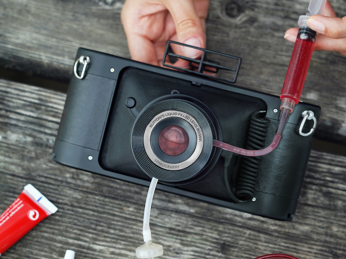 Lomography HydroChrome Sutton's Panoramic Belair Camera lets you fill the lens with color