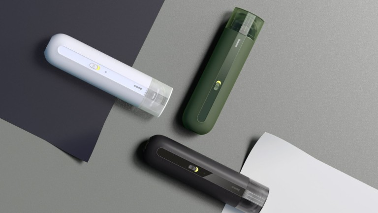 MINI natural suction vacuum easily stores in your car or desk