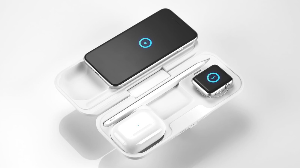 MOMAX Airbox true wireless power bank for Apple can fast charge your Apple devices
