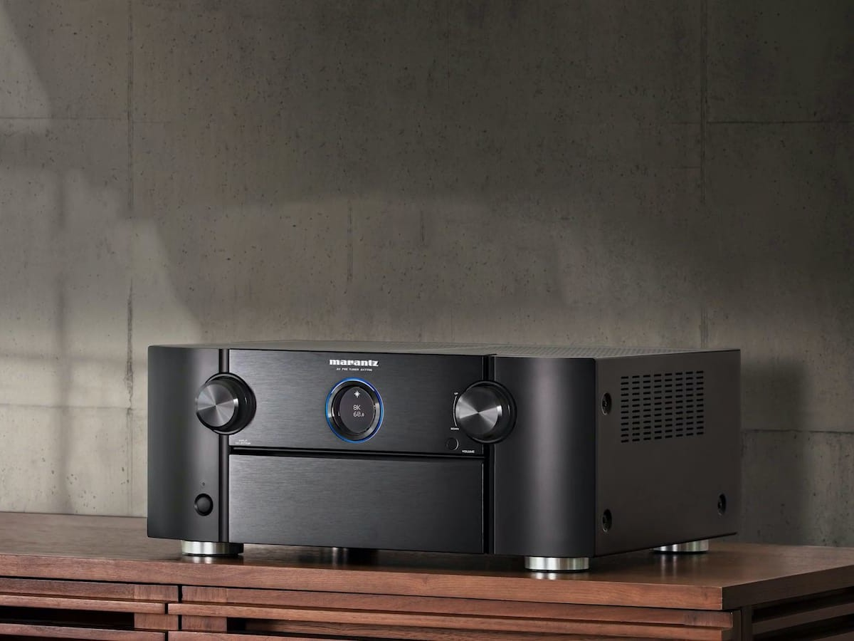 Marantz AV7706 preamplifier boasts 8K HDMI passthrough