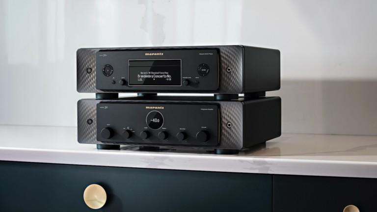 Marantz MODEL 30 & SACD 30N amplifier audio streamer series produces unforgettable sound