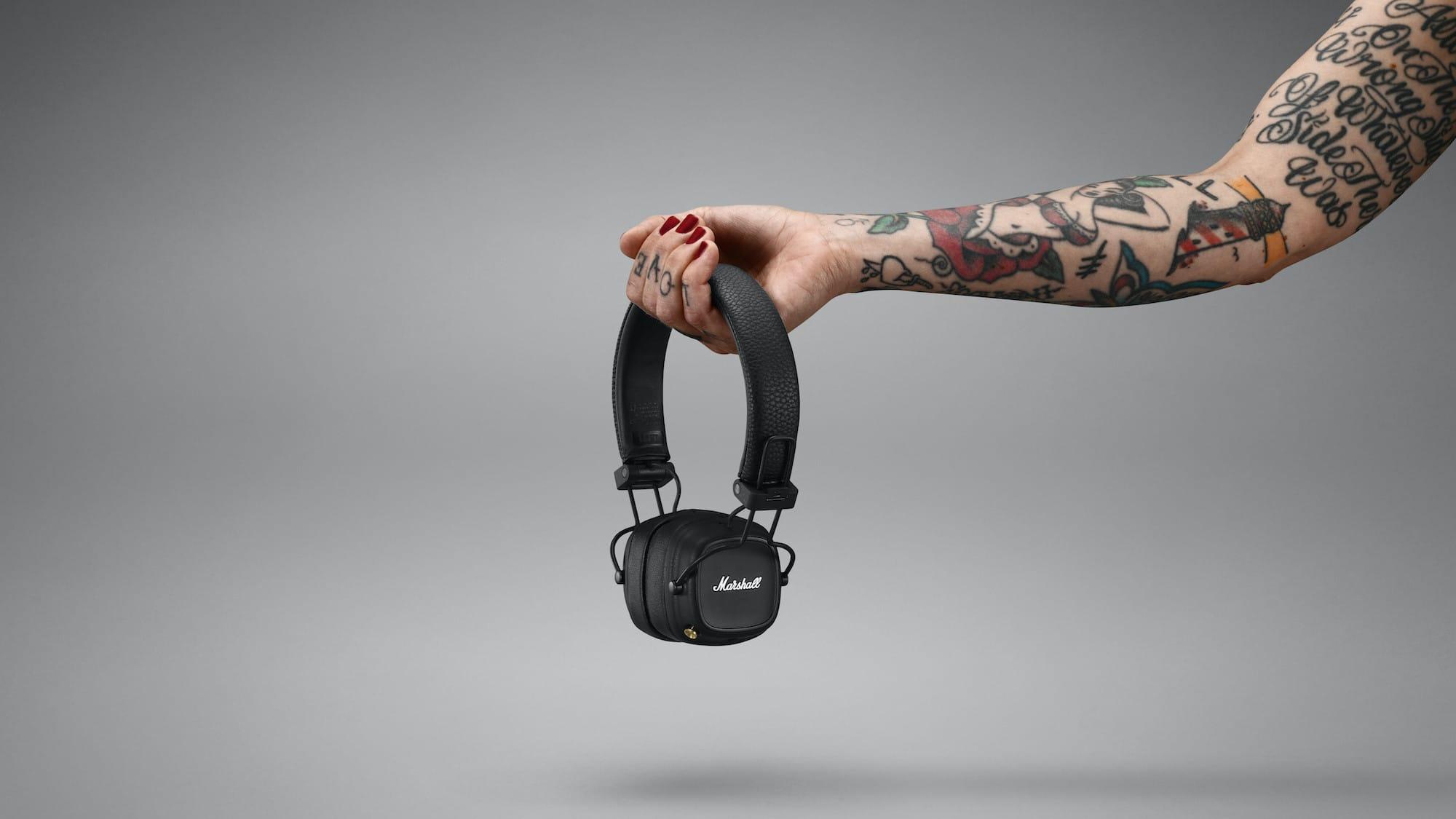 Marshall Major IV iconic headphones provide 80 hours of play
