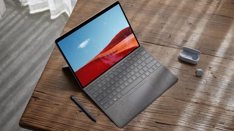 Microsoft Surface Pro X versatile laptop has a 2-in-1 design