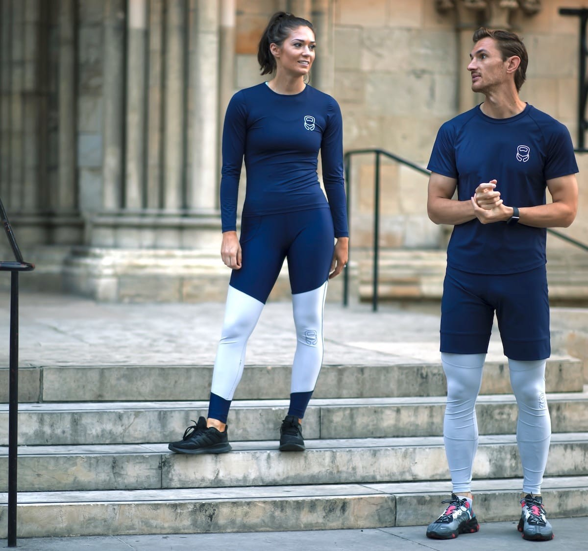 Mocean Fitness sustainable activewear comes from recycled ocean pollution