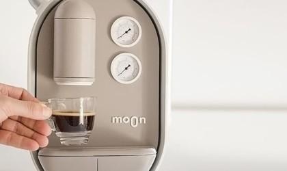 Moon Coffee Maker by Roee Ben Yehuda