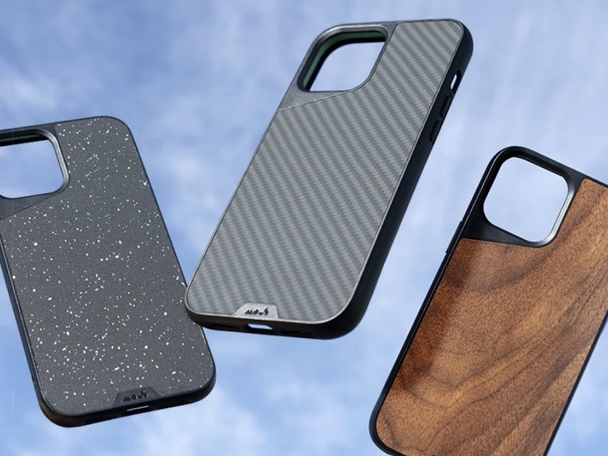 Mous Limitless 3.0 iPhone 12 6.1 impact-absorbing case uses AiroShock technology