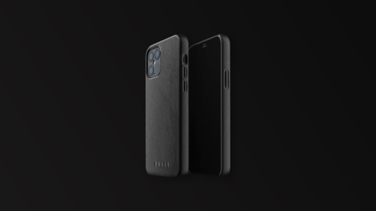 Mujjo iPhone 12 & 12 Pro slim cover helps you grip your phone