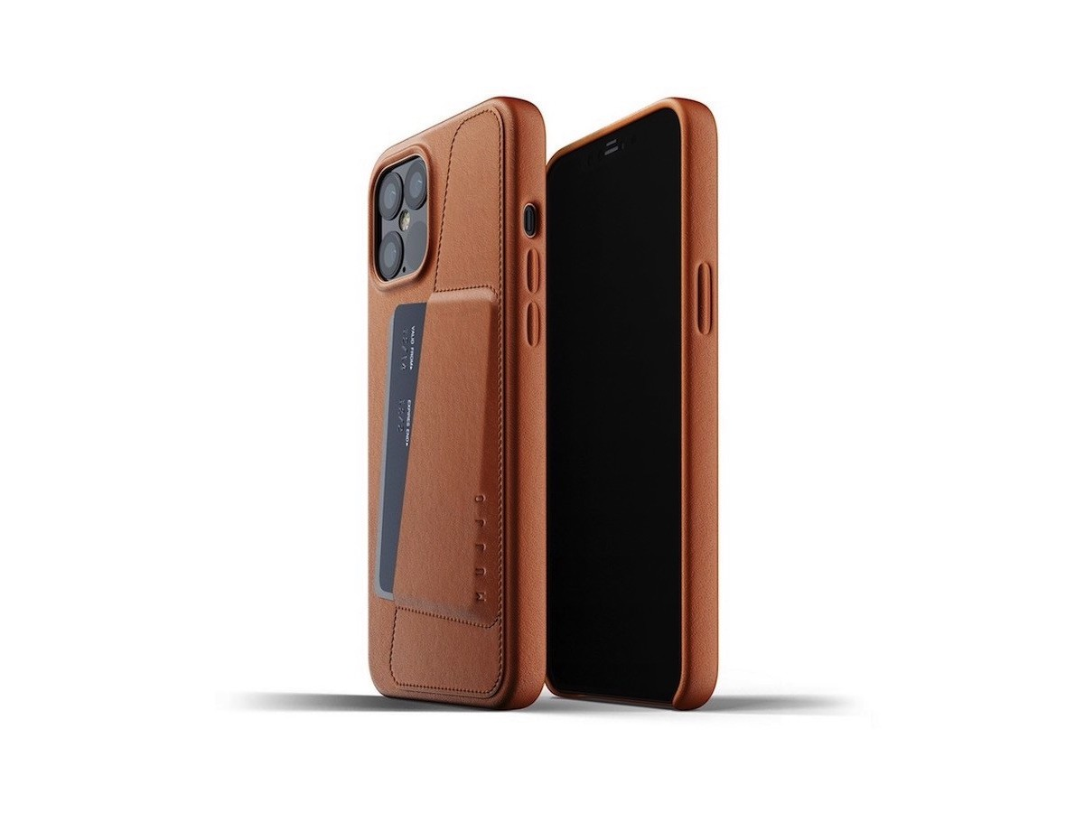 Mujjo iPhone 12 Pro Max cover has a pouch for a credit card