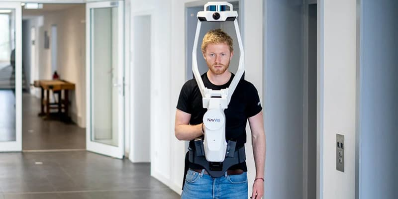NavVis VLS Wearable Reality Capture Device