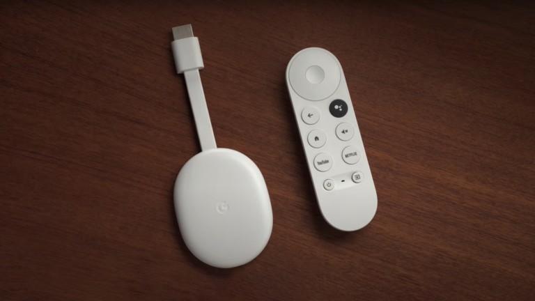 Chromecast with Google TV remote offers convenient navigation buttons