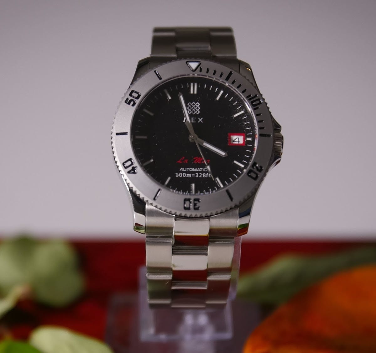 Nex La Mer automatic watch is Norwegian design at its finest
