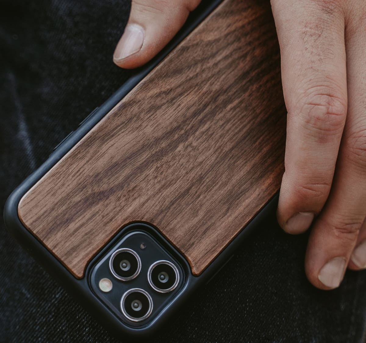 Oakywood Wooden iPhone 12 protective case is compatible with a range of iPhones