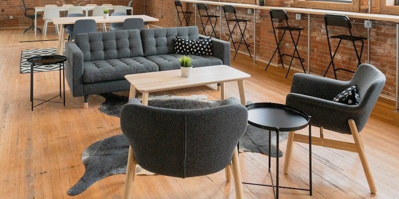 Office Furniture / Credits: Michael Warf via Unsplash