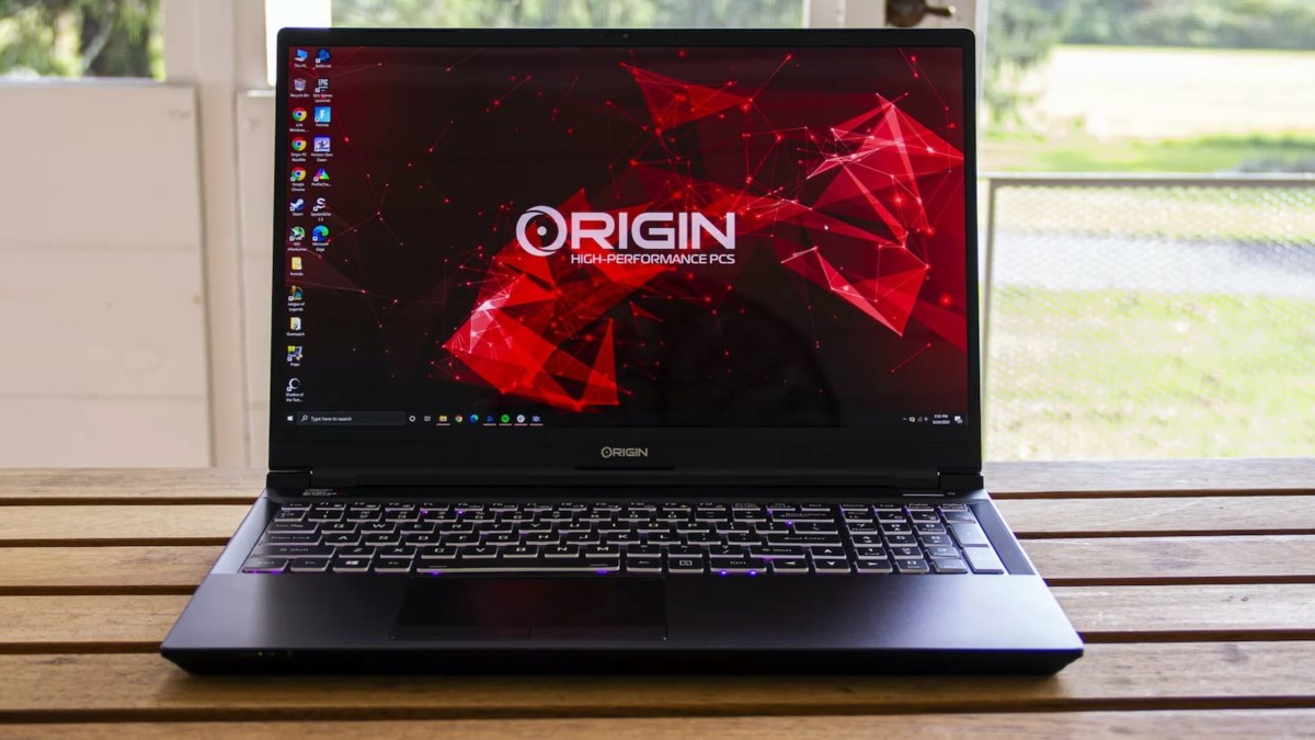 Origin PC EVO15-S gaming laptop offers up to 64GB DDR4 RAM