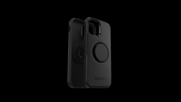 OtterBox Otter + Pop Symmetry Series iPhone 12 & 12 Pro case has a PopSockets PopGrip