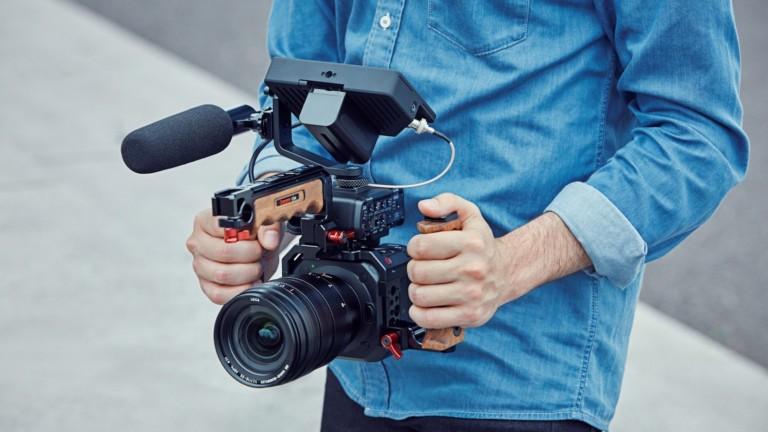 Panasonic LUMIX BGH1 box-style mirrorless camera is super easy to deploy