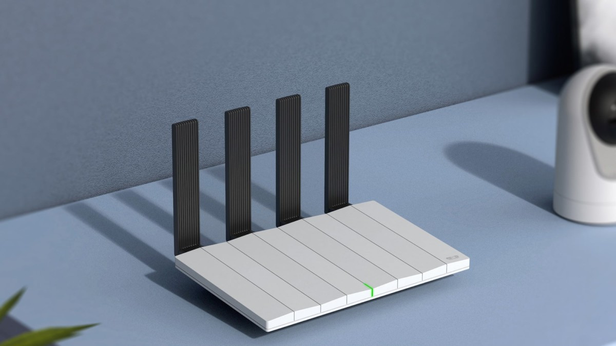 Piano Wi-Fi 6 router gives your internet connection a unique look