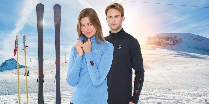 Polar Seal Heated Zip Top Self-Warming Shirt