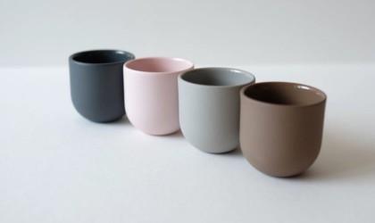 Porcelain Espresso Cup Set