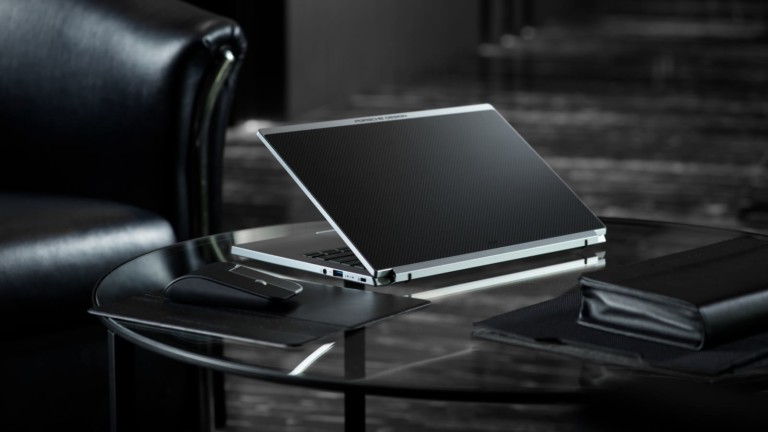 Porsche Design Acer Book RS laptop blends high-end tech with gorgeous design
