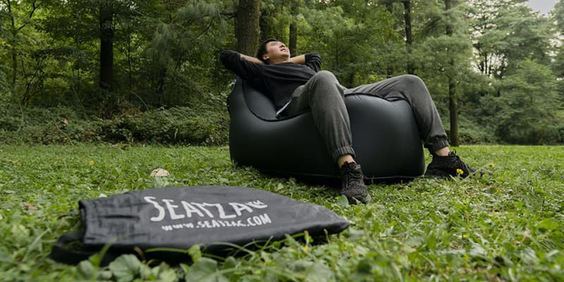 SEATZAC Incredible Self-Inflating Chair