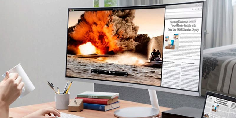 Samsung 34 CF791 Curved Widescreen Monitor