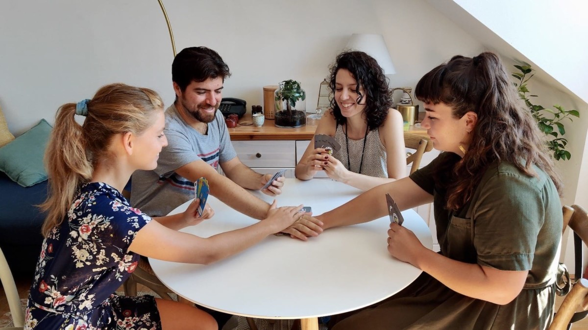 Social Responsibility fast-paced card game will have you laughing & crying every time