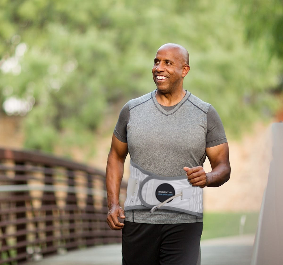 The Essential Massager Lumbar Decompression Belt helps heal lower back conditions