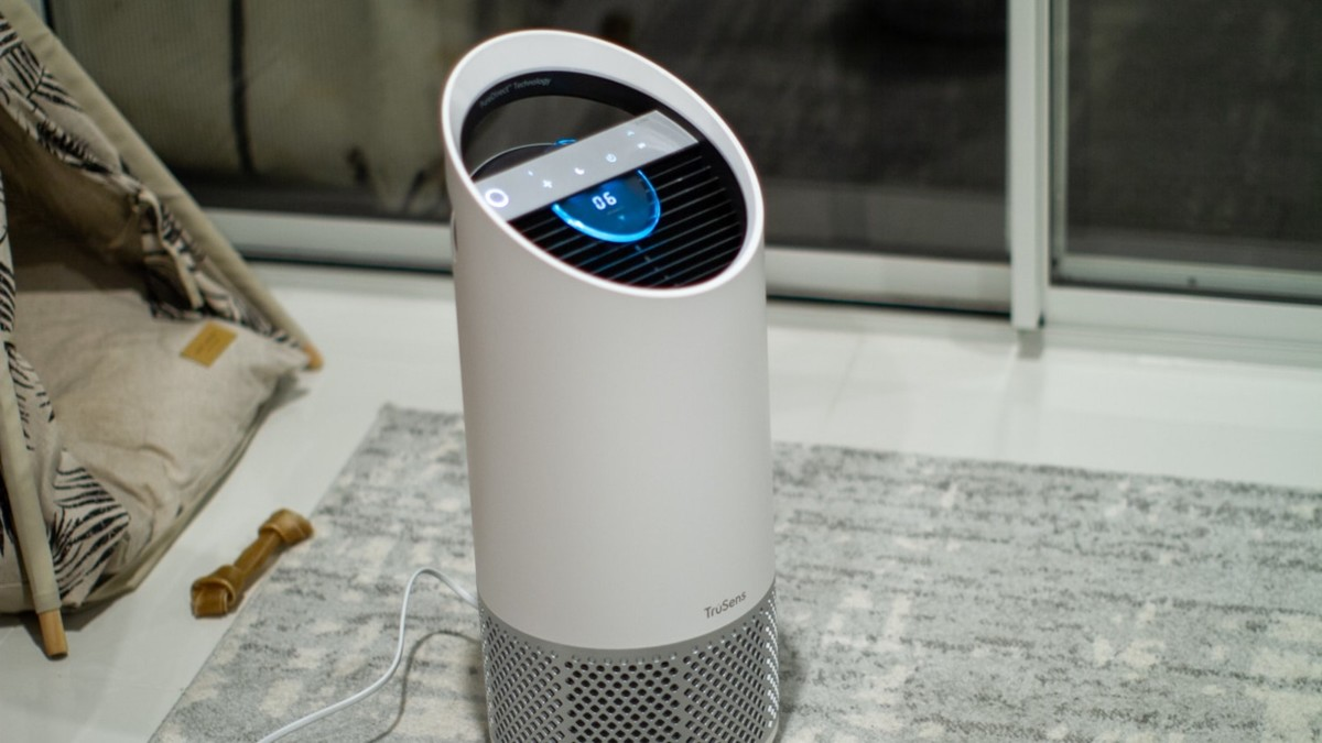TruSens Z-2000 medium air purifier gives you accurate air quality readings