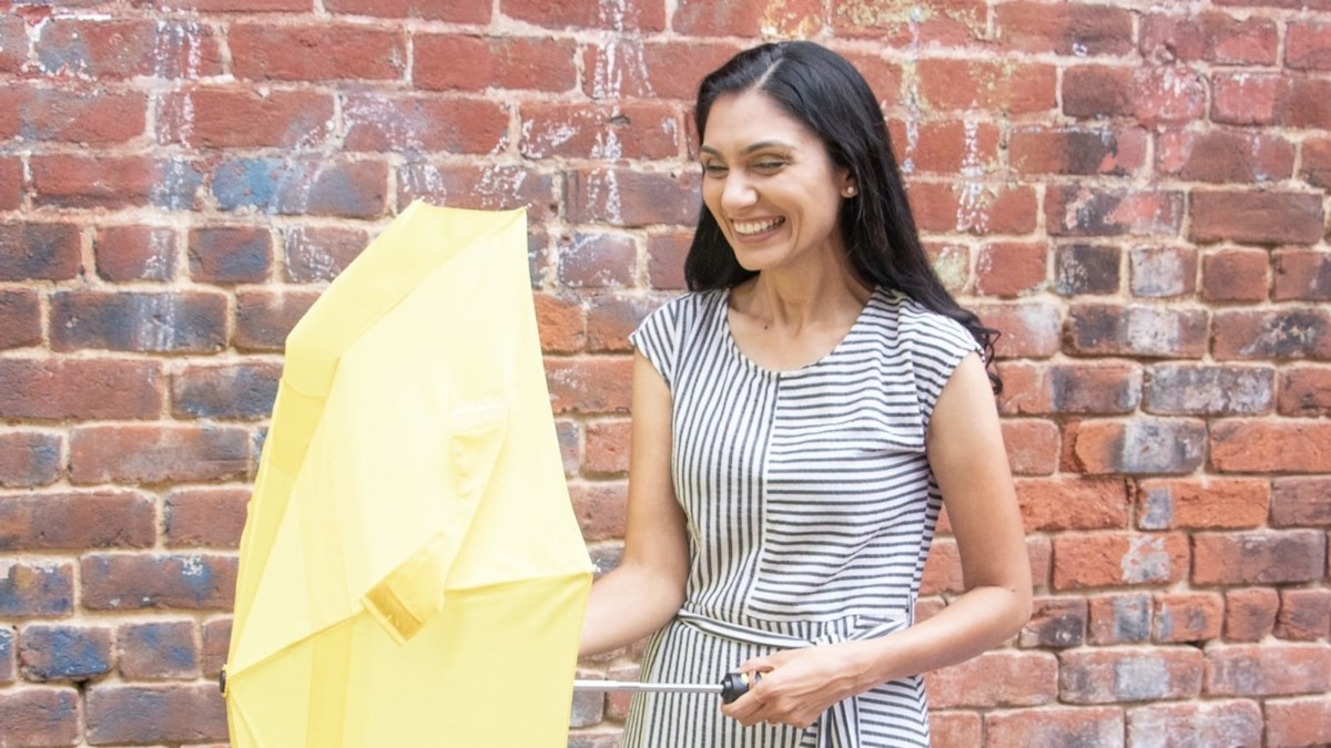 Umby protective umbrella provides insurance to a family for an entire year