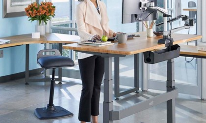 VARIChair Pro Standing Desk Chair