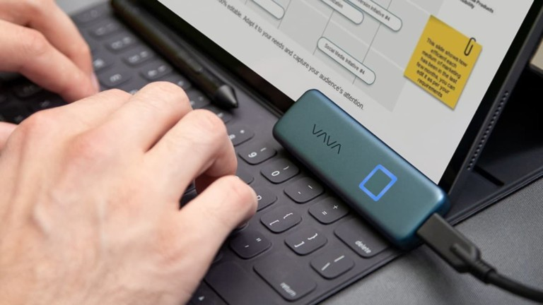 VAVA Portable SSD Touch Secure External Storage
