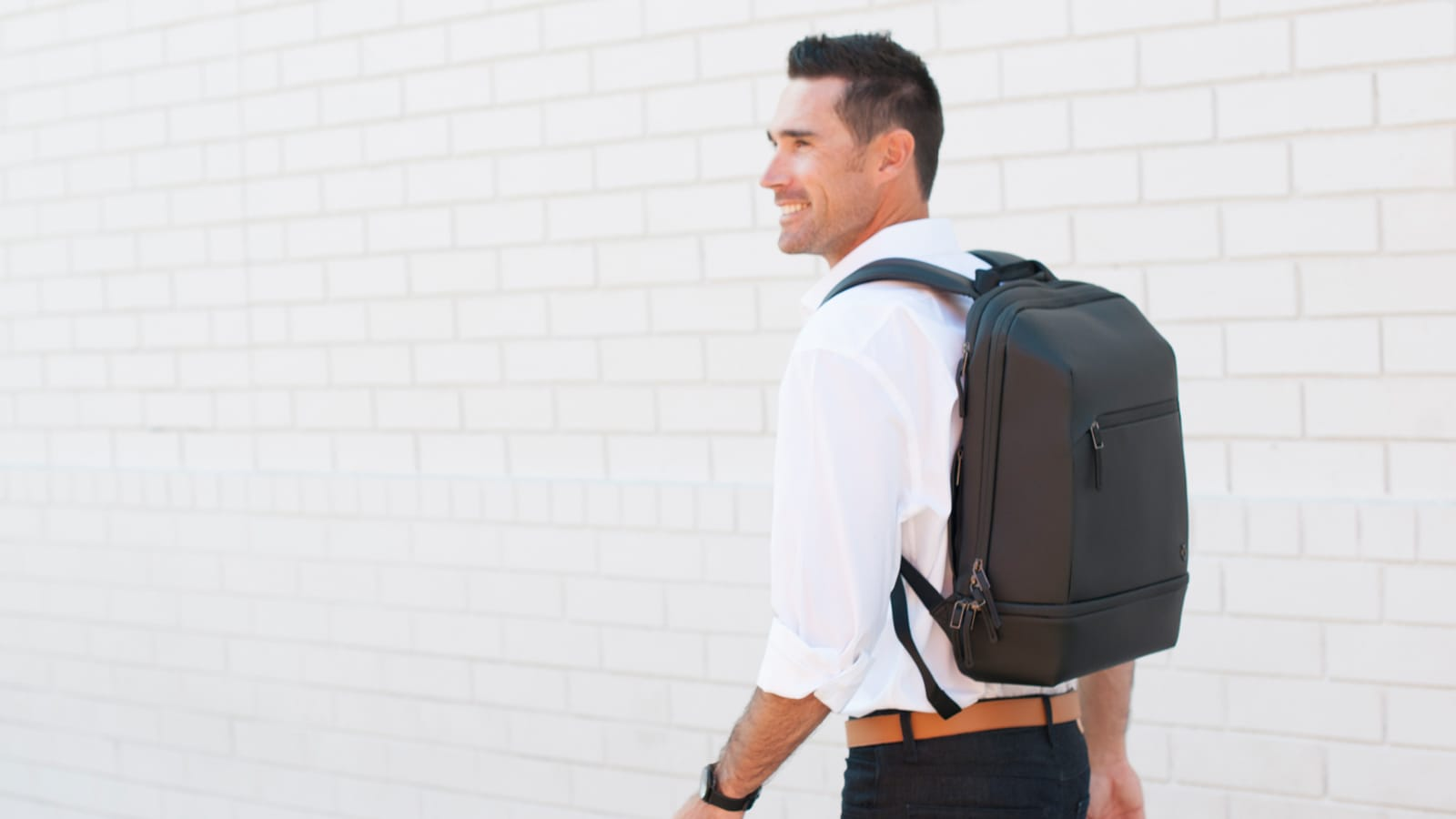 VESSEL Signature 2.0 laptop backpack is impressively durable and weather resistant