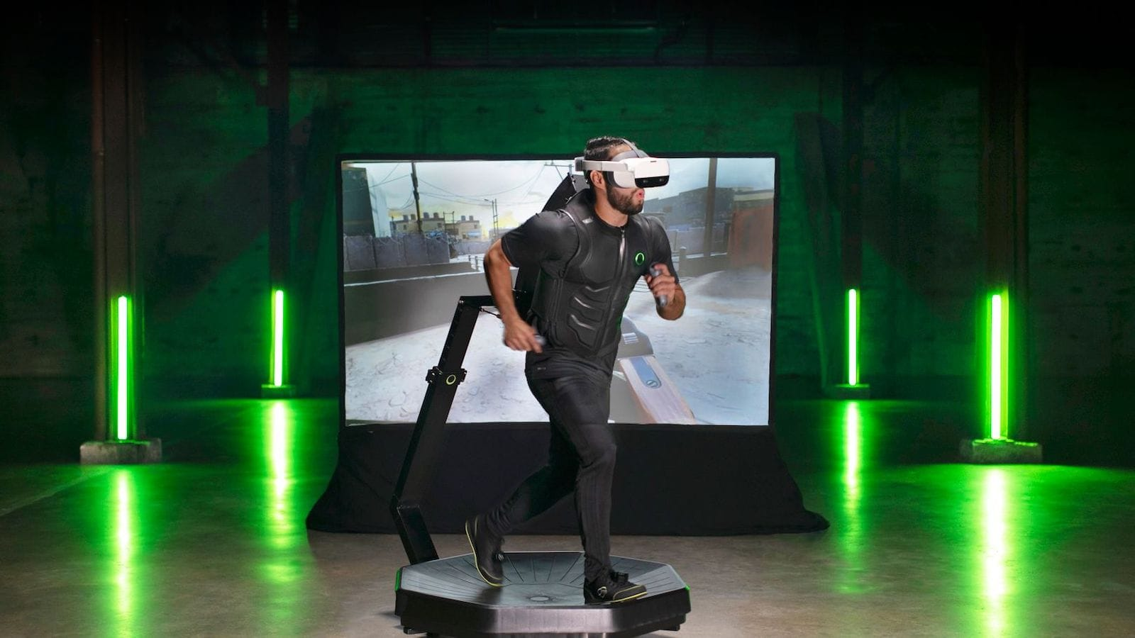 Virtuix Omni One VR treadmill lets you move in all 360 degrees
