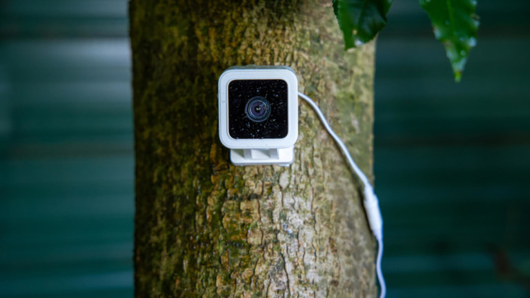 Wyze Cam v3 outdoor security camera features a siren to warn intruders and an IP65 rating