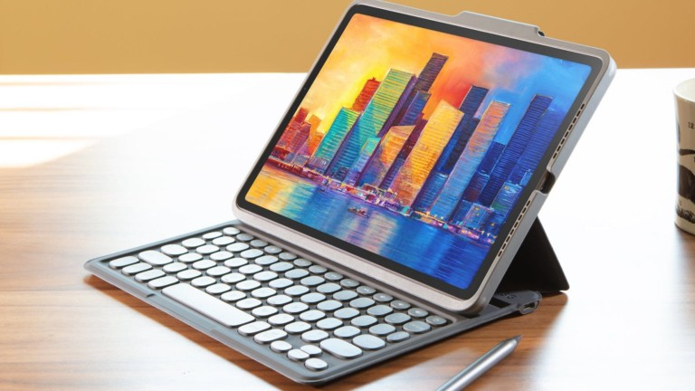 ZAGG Pro Keys wireless iPad keyboard turns any surface into a workspace