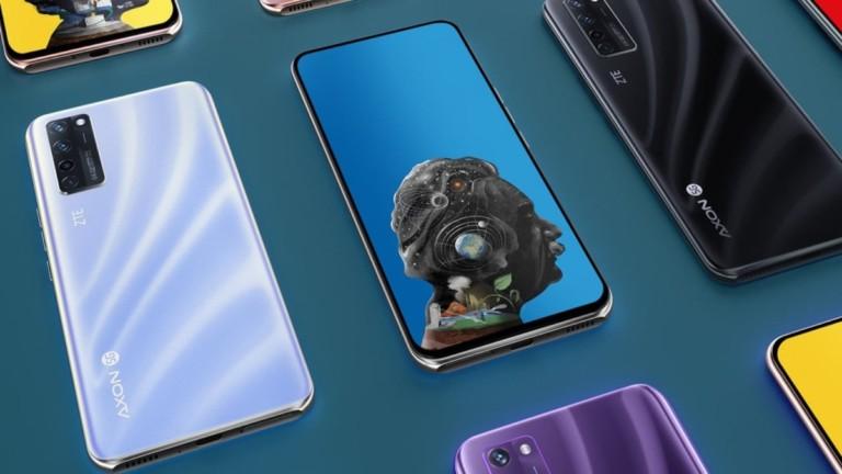 ZTE Axon 20 5G Under Display Camera Smartphone