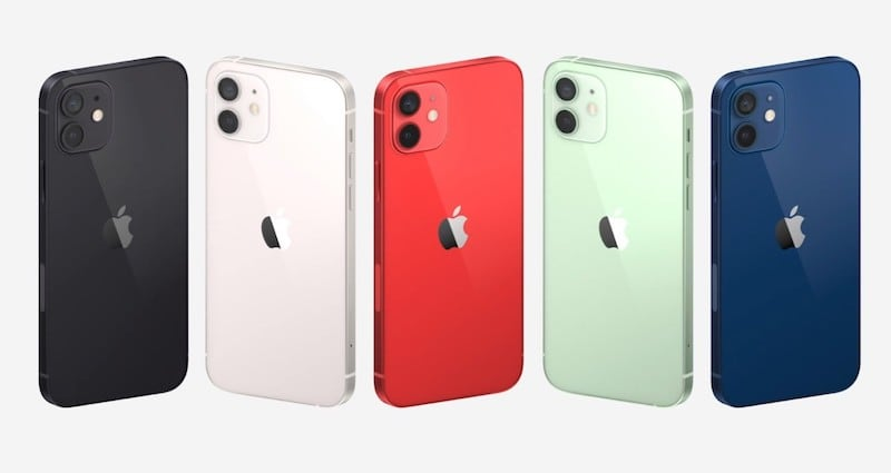 New iPhone 12 in five colors