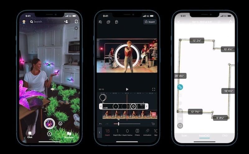 iPhone 12 Pro Max LiDAR sensor technology