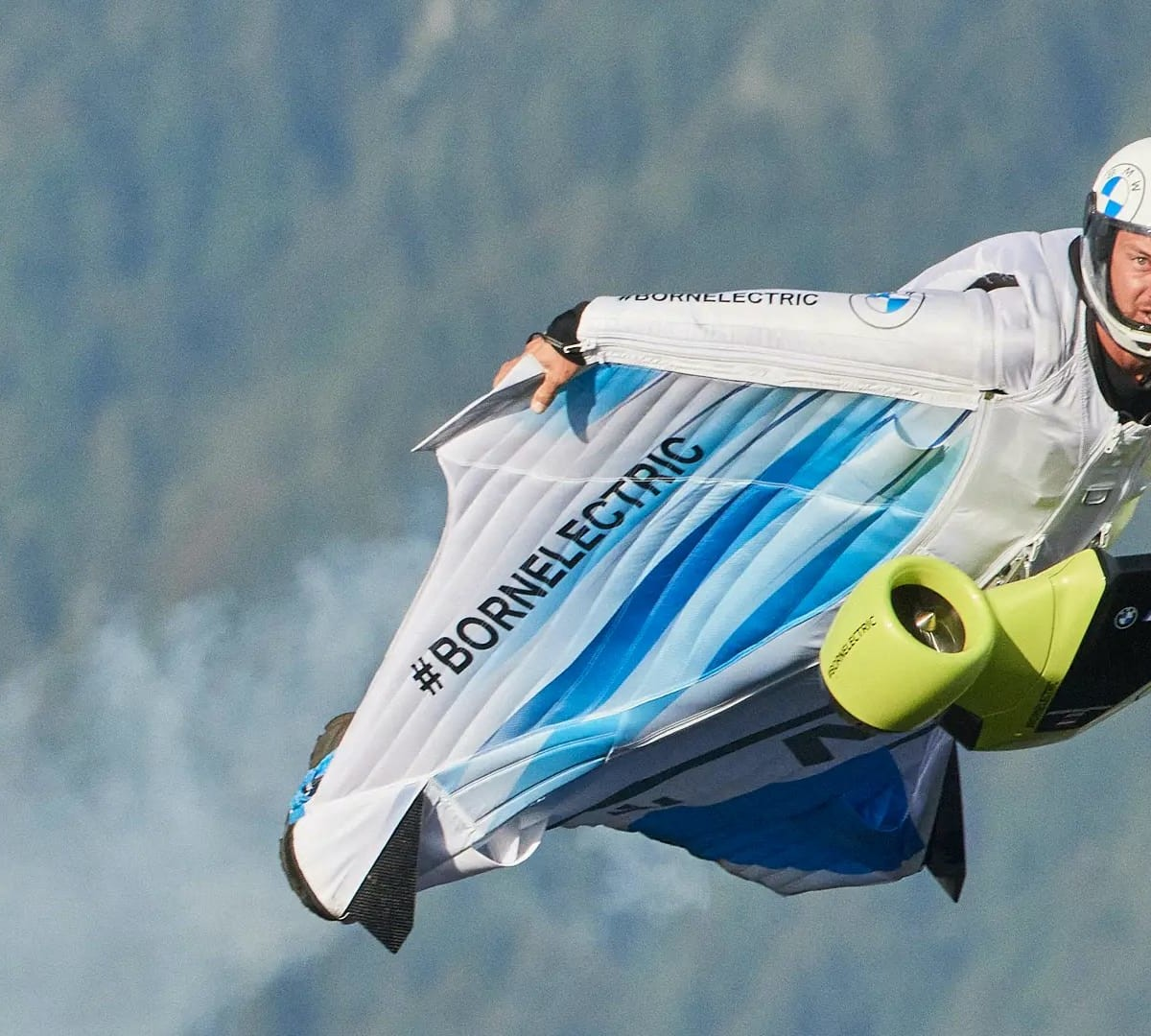 BMW Electrified Wingsuit lets you soar through the sky at 186 mph