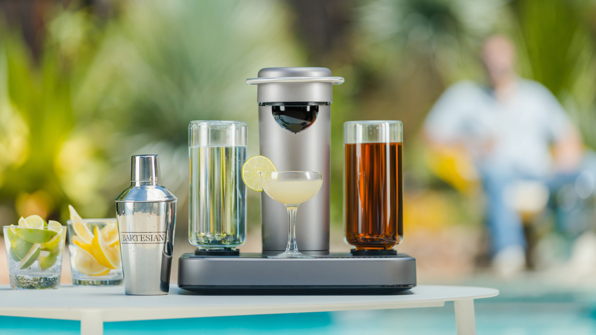 Bartesian home cocktail maker dispenses delicious drinks in seconds
