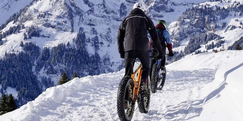 Bike trips in winter