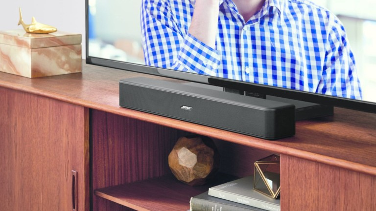 Bose Solo 5 TV soundbar offers multiple audio programs to enhance what you're listening to