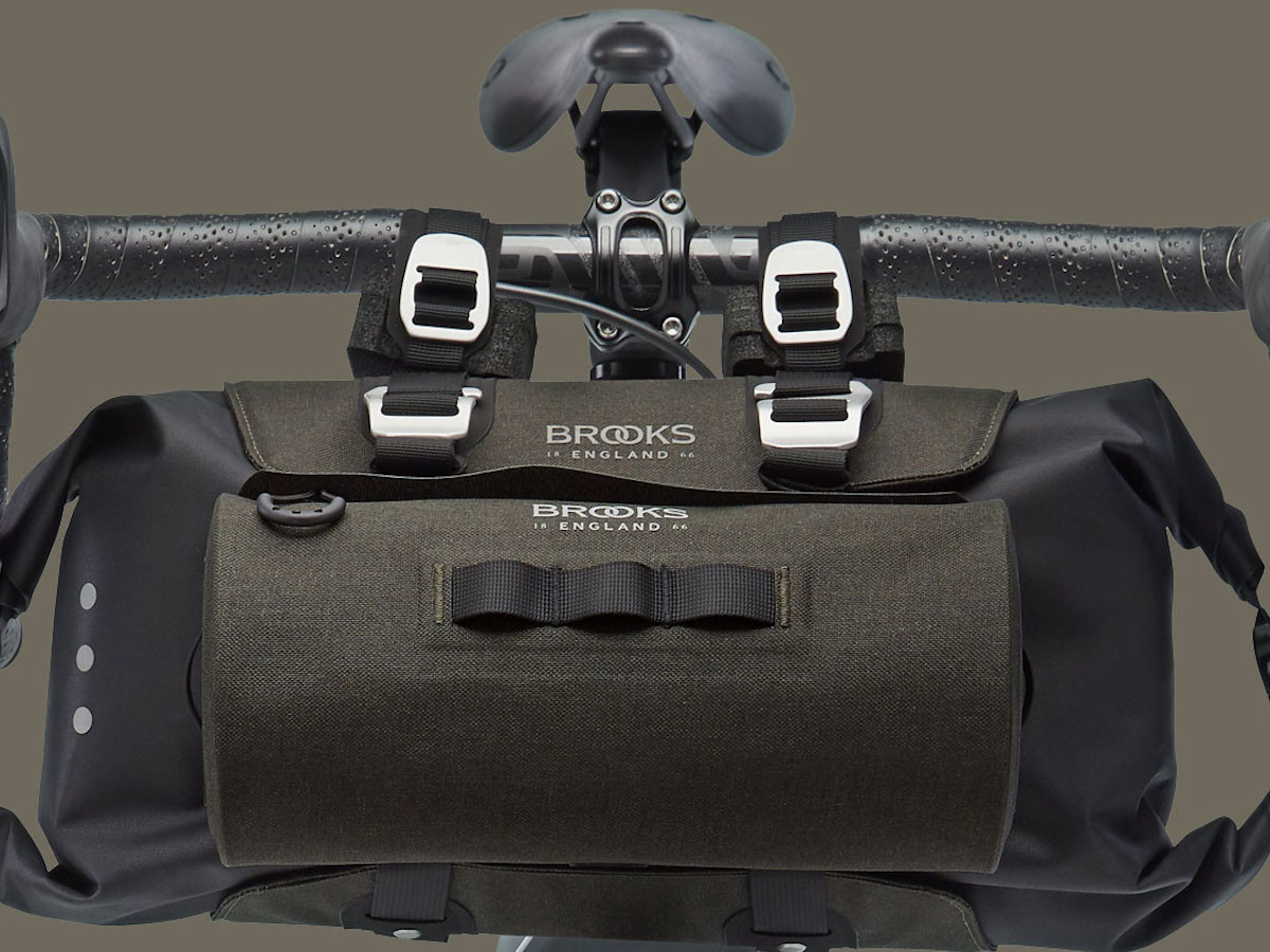 Brooks England Scape bike bag collection is functional with different storage capacities