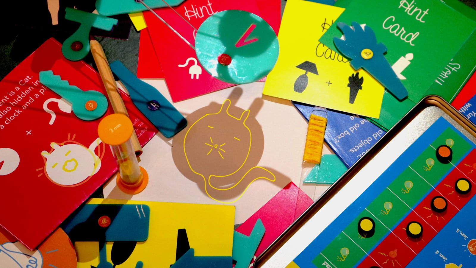 Bulby light and shadow ideation game lets children unleash their creative genius