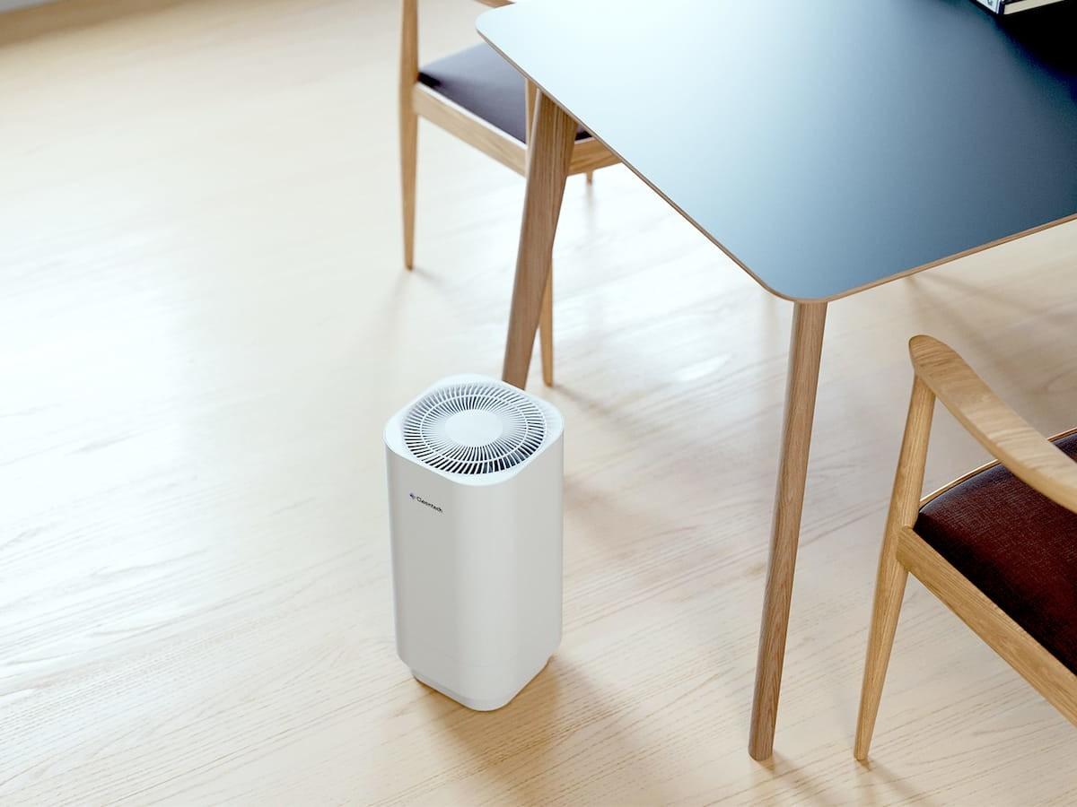 Clean-Tech powerful & safe UVC air purifier uses a HEPA filter & medical-grade technology
